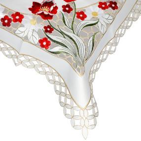 Mitteldecke Blumen 110x110cm