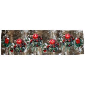 LED Tischläufer Weihnachten, 40 x 140 cm