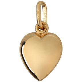 Herz-.Anhänger 750 Gelbgold