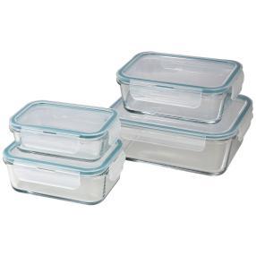 Glas Frischhaltedosen 8-teilig