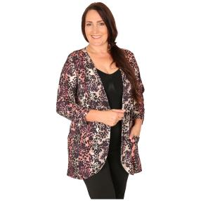 CANDY CURVES Cardigan multicolor