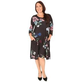 CANDY CURVES Kleid multicolor