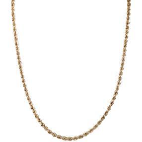 Kordel-Kette 585 Gelbgold