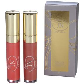JN Push-Up & Plumping Lipgloss 2x5 ml Peach&Rose