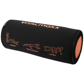 VITALmaxx  Massagerolle schwarz/orange