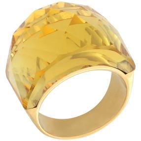 Ring Edelstahl vergoldet gelb