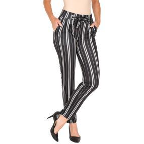 Zauberhose 'Perfect Lana' schwarz/weiß gestreift