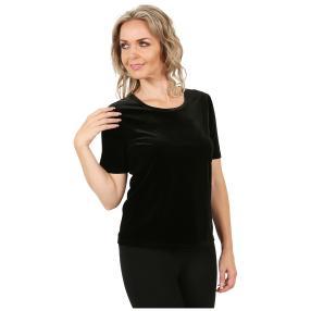 VIVACE Samt-Shirt 'Sorrent' schwarz