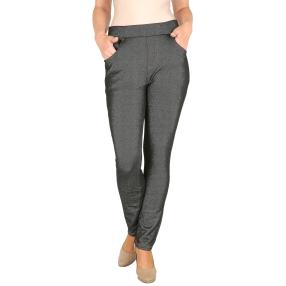 Damen-Hose 'Super Fit' mit Bambus denim black