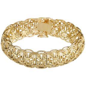 Fantasie-Armband 585 Gelbgold ca. 13,5 g
