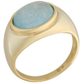 Ring 925 Sterling Silber Aquamarin