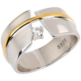 Ring 925 Sterling Silber Zirkon