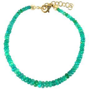 Armband Äthiopischer Opal grün