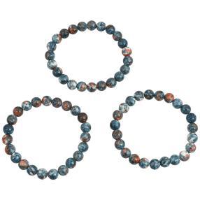 Set Armbänder 3-teilig Jaspis
