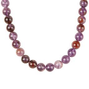 Collier Purple Quarz, 925 Sterling Silber