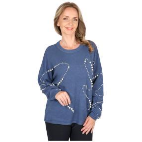Damen-Pullover 'Perla' blau