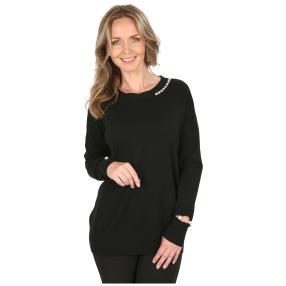 Damen-Pullover 'Grazia' schwarz