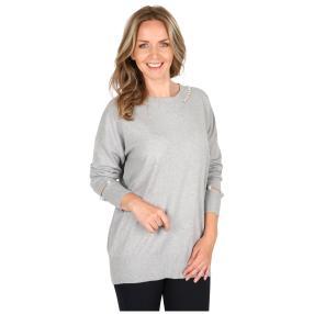 Damen-Pullover 'Grazia' grau