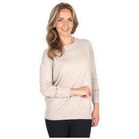 Damen-Pullover 'Grazia' beige