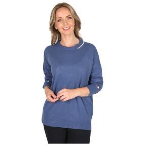 Damen-Pullover 'Grazia' blau