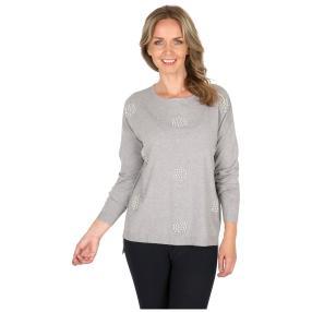 Damen-Pullover 'Diva' grau
