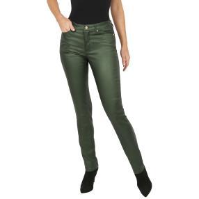 Jet-Line Damen-Hose 'Austin' green metallic