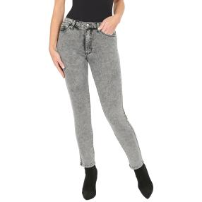 Jet-Line Damen-Jeans 'Frisco' washed grey