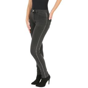 Jet-Line Damen-Jeans 'Allen' washed black