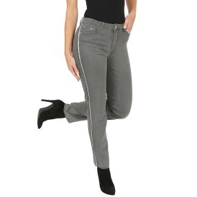 Jet-Line Damen-Jeans 'Denton' middle grey