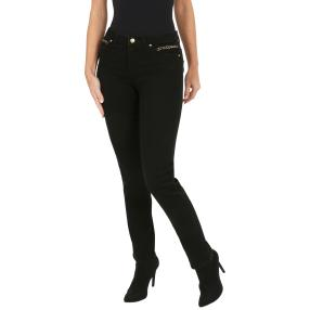 Jet-Line Damen-Jeans 'Dallas', black/black