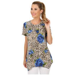 Damen-Shirt 'Scapoli' braun/blau
