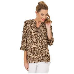 Damen-Bluse 'Celano'  schwarz/weiß