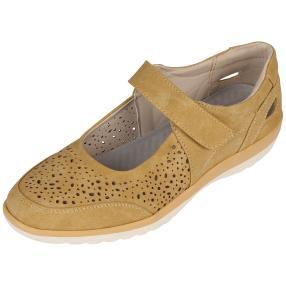 Cushion-walk Damen Slipper, gelb, weiß