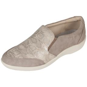 Cushion-walk Damen Slipper, beige, taupe