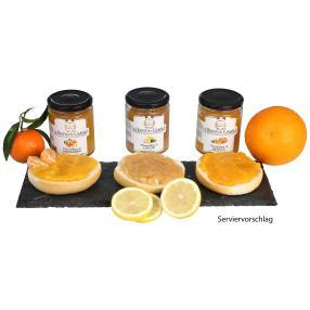 Marmeladen 3erSet Zitrone & Co