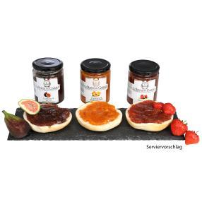 Konfitüren 3erSet Erdbeer & Co