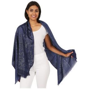 Schal Made in Italy geschmückt