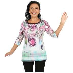 BRILLIANTSHIRTS Shirt 'Alassio' multicolor