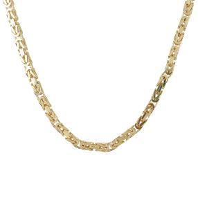 Königskette 585 Gelbgold