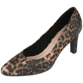 mocca by Jutta Leibfried Pumps, Leo-Muster