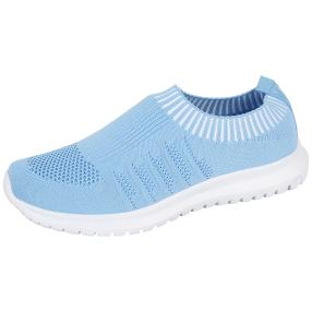 TOPWAY FLEX FOAM Damen Slipper LW, hellblau