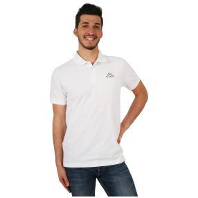 KAPPA  Herren-Polo-Shirt weiß
