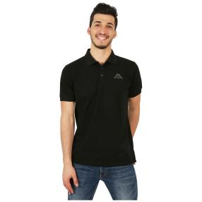 KAPPA  Herren-Polo-Shirt schwarz