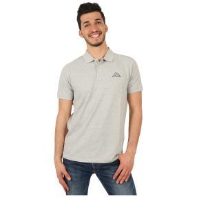 KAPPA  Herren-Polo-Shirt grau