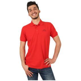 KAPPA  Herren-Polo-Shirt rot