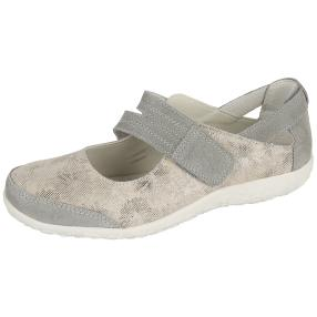 TOPWAY COMFORT Damen Slipper, beige, grau
