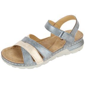 STEP&GO Damen Sandalen dunkelblau