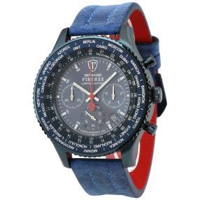 """DETOMASO Herren Chronograph """"Firenze XXL"""" blau"""