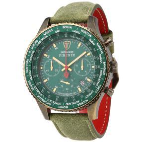 "DETOMASO Herren Chronograph ""Firenze XXL"" grün"