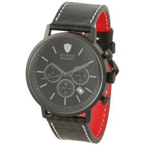 "DETOMASO Herren Chronograph ""Milano XL"" schwarz"